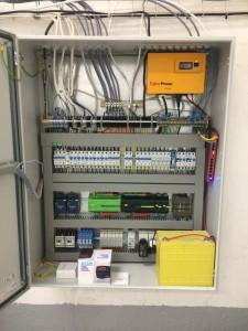 Řídící systém výměníkové stanice 150kW